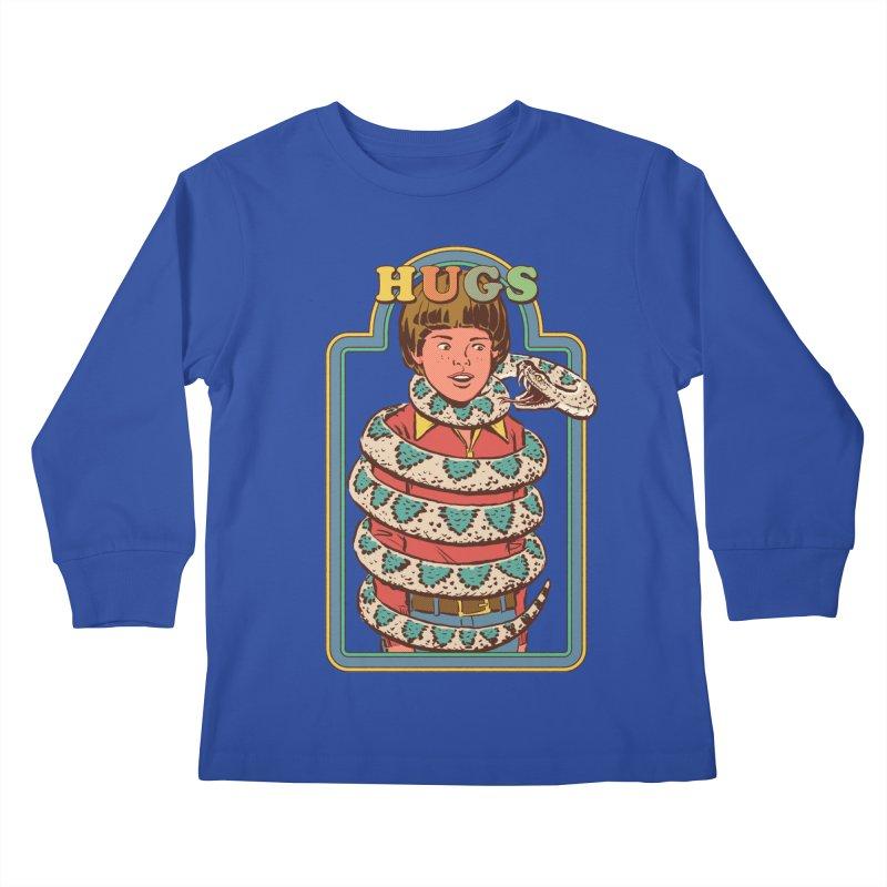 Hugsss Kids Longsleeve T-Shirt by Steven Rhodes