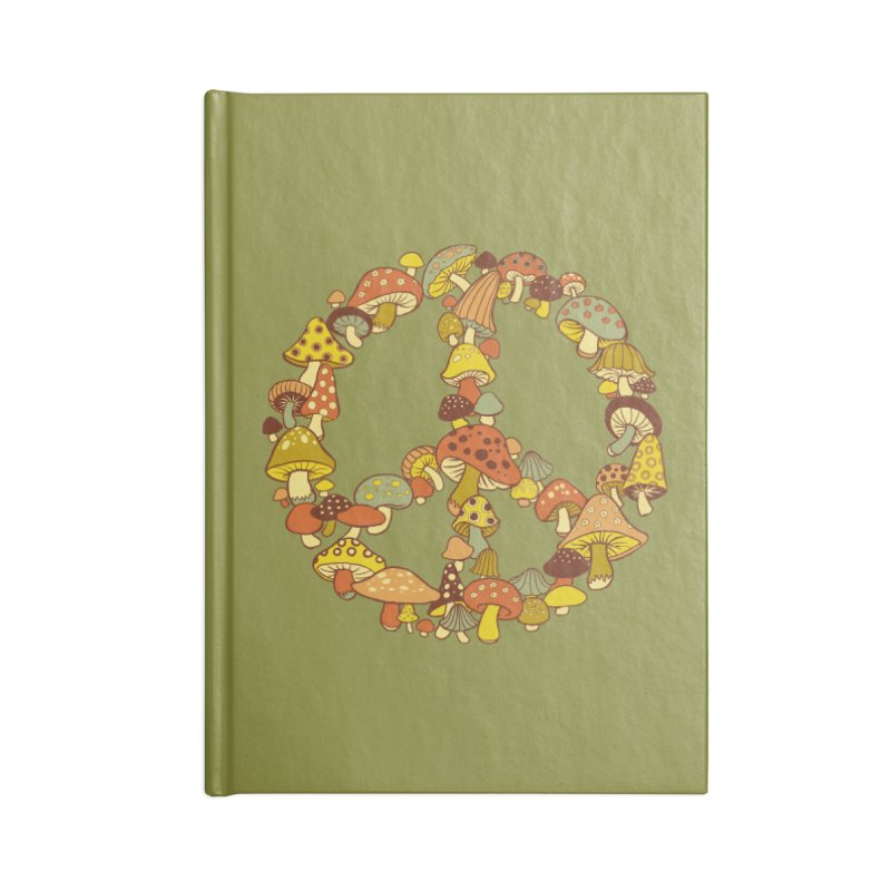 Mushroom Ring Accessories Notebook by Steven Rhodes