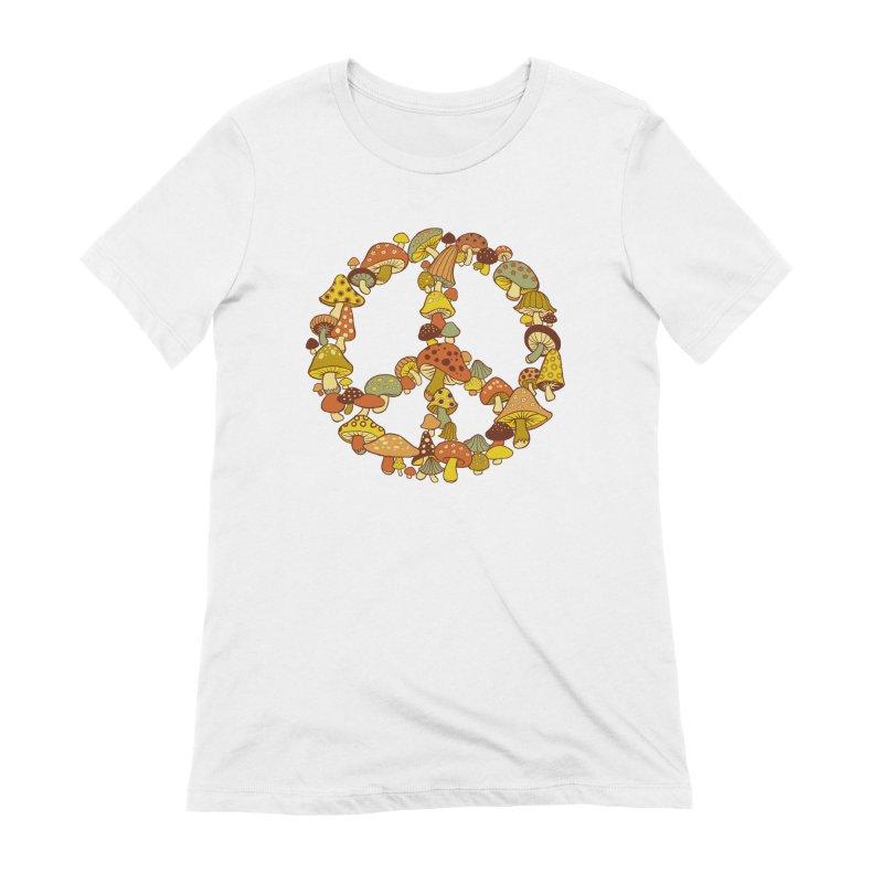Mushroom Ring Women's T-Shirt by Steven Rhodes