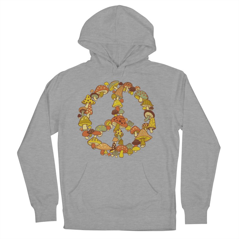 Mushroom Ring Women's French Terry Pullover Hoody by Steven Rhodes