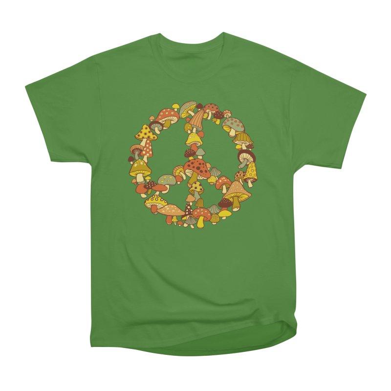 Mushroom Ring Women's Classic Unisex T-Shirt by Steven Rhodes