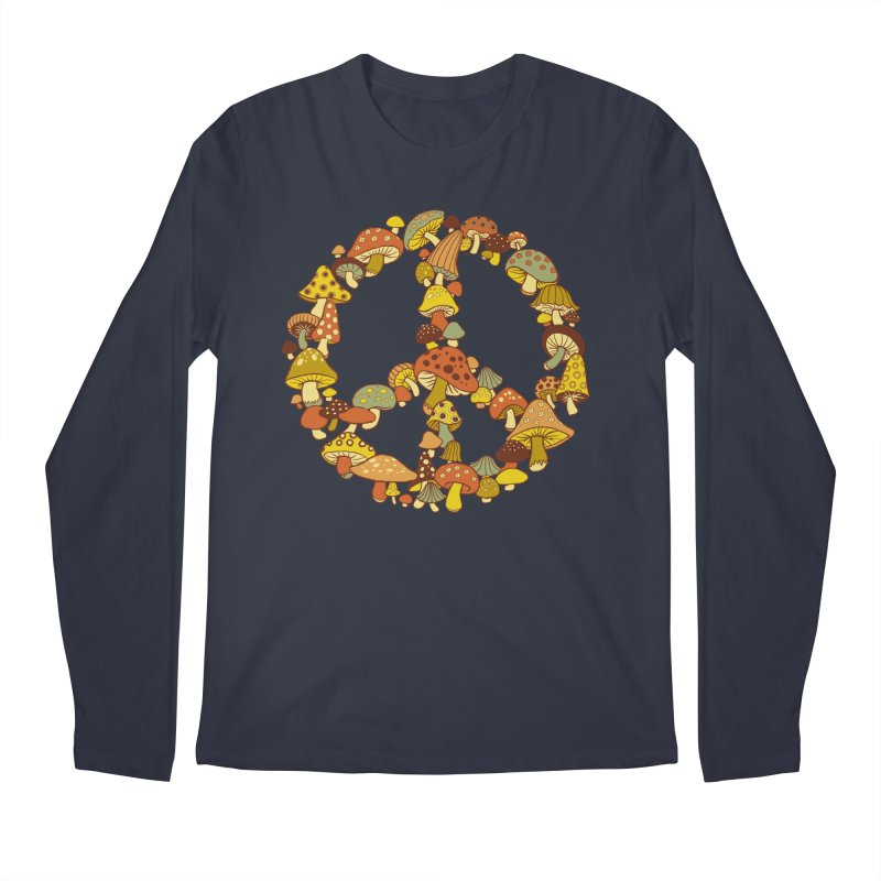 Mushroom Ring Men's Longsleeve T-Shirt by Steven Rhodes