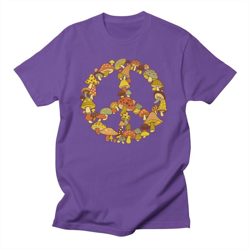 Mushroom Ring Women's Unisex T-Shirt by Steven Rhodes
