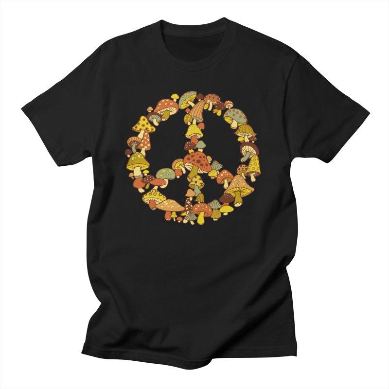 Mushroom Ring Men's T-Shirt by Steven Rhodes