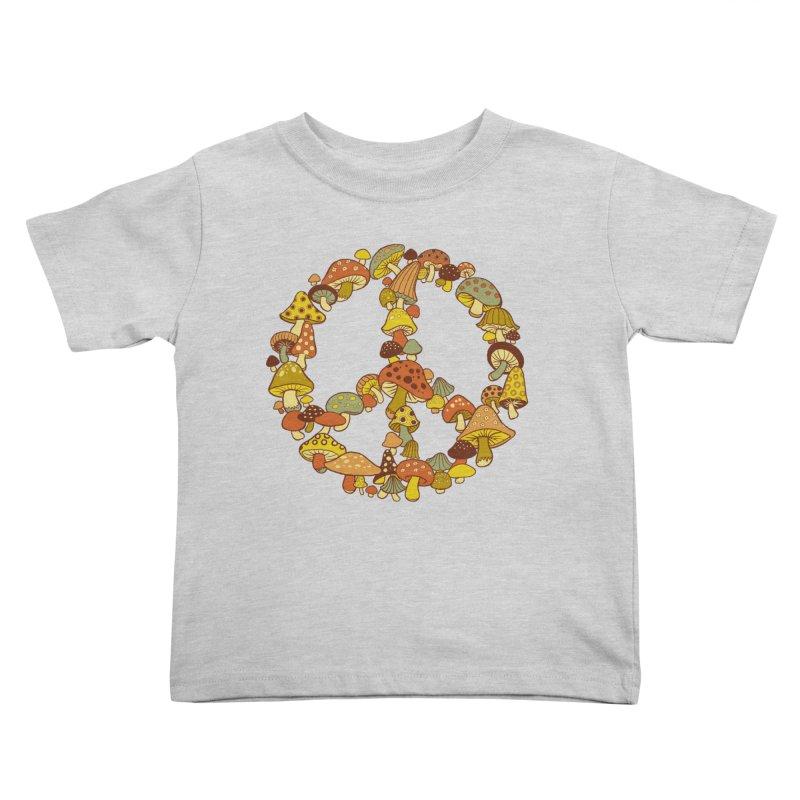 Mushroom Ring Kids Toddler T-Shirt by Steven Rhodes