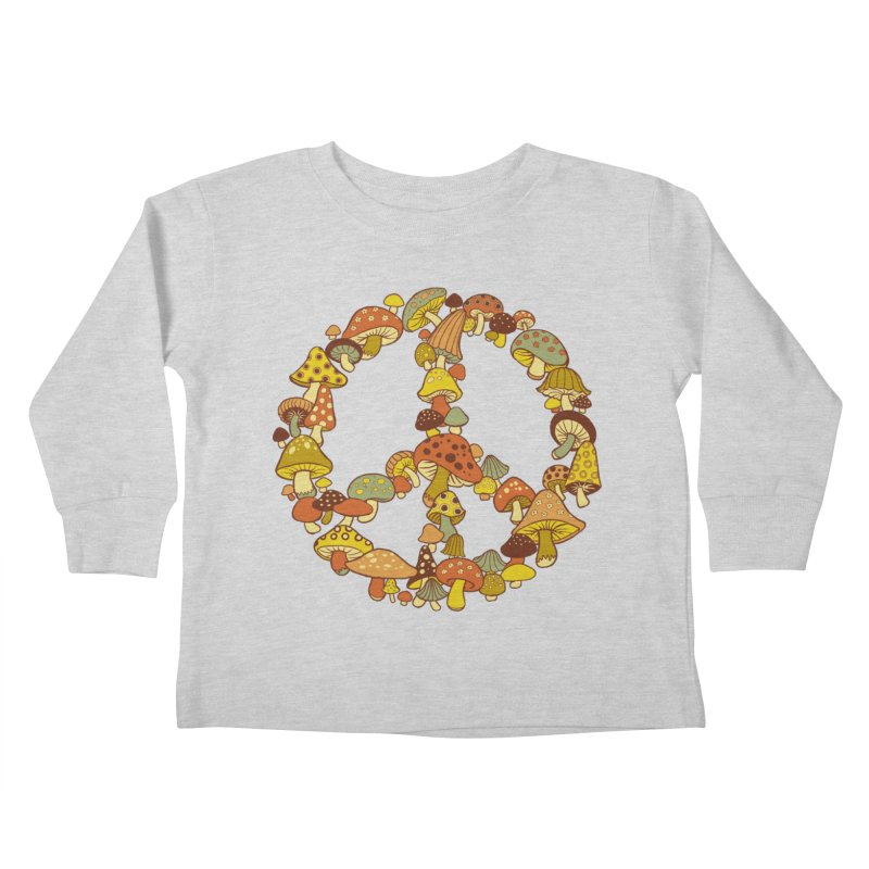 Mushroom Ring Kids Toddler Longsleeve T-Shirt by Steven Rhodes