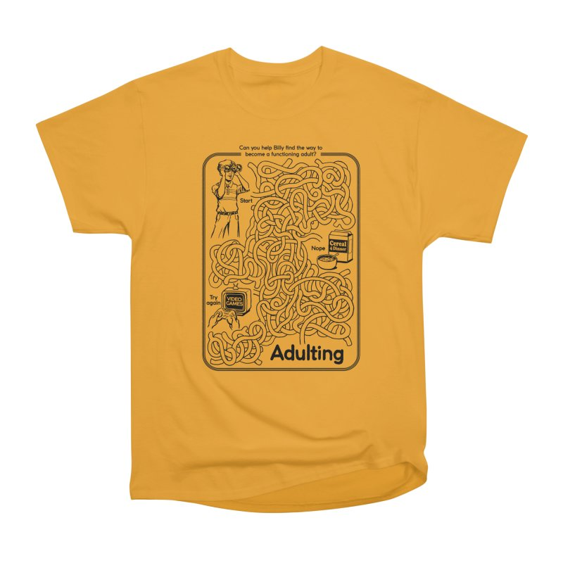 Impossible Maze Men's Classic T-Shirt by Steven Rhodes