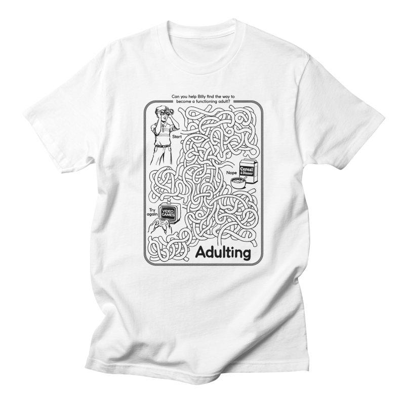 Impossible Maze Women's Unisex T-Shirt by Steven Rhodes