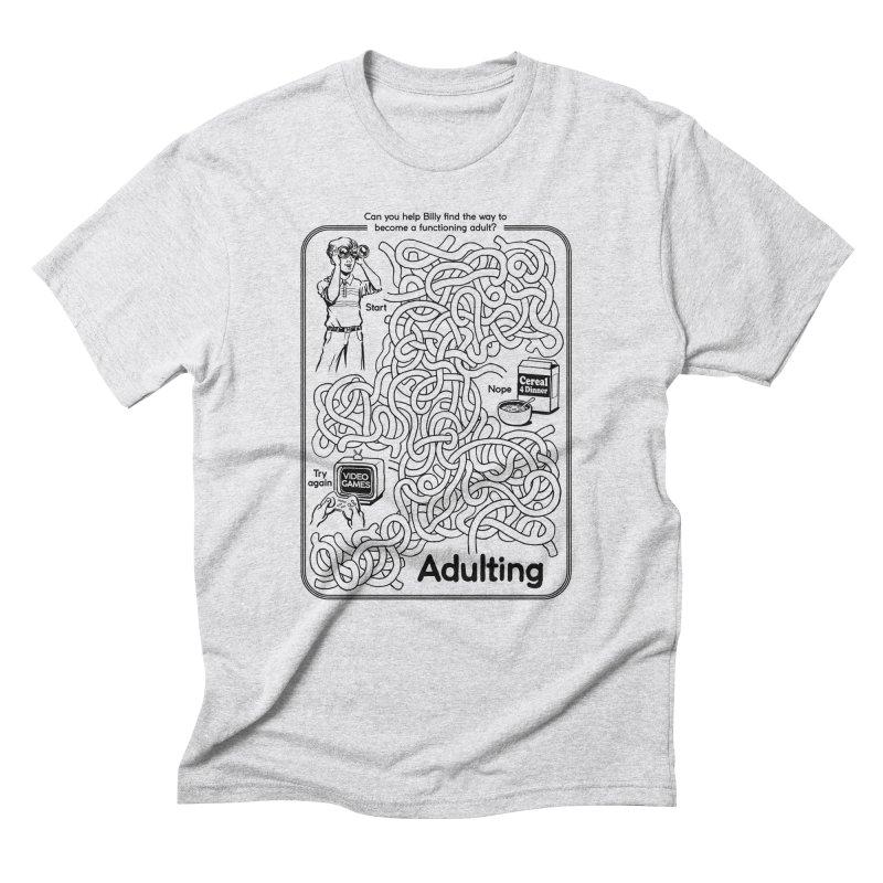 Impossible Maze Men's Triblend T-Shirt by Steven Rhodes