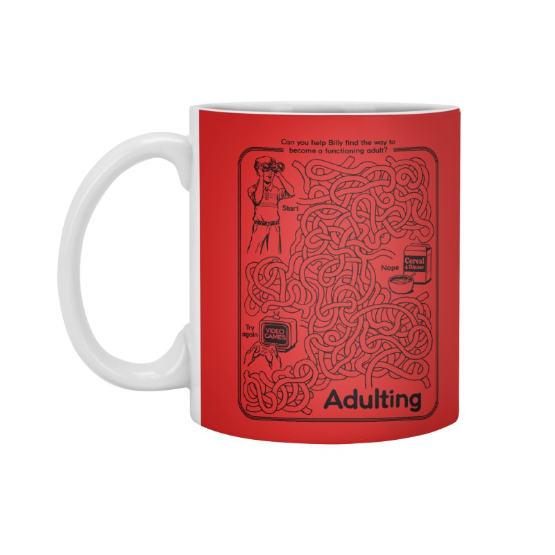 Impossible Maze Accessories Mug by Steven Rhodes