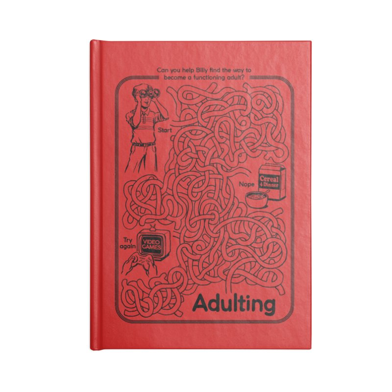 Impossible Maze Accessories Notebook by Steven Rhodes