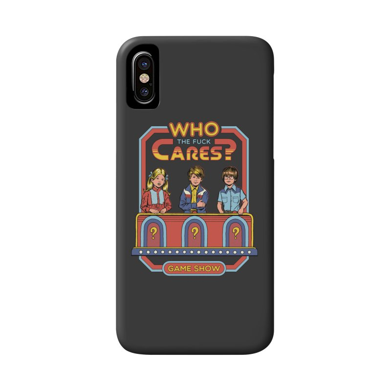 Who Cares? Accessories Phone Case by Steven Rhodes