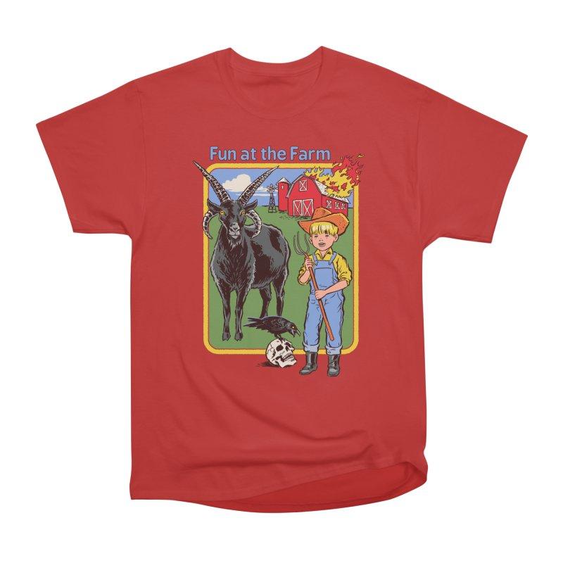 Fun at the Farm Women's Classic Unisex T-Shirt by Steven Rhodes