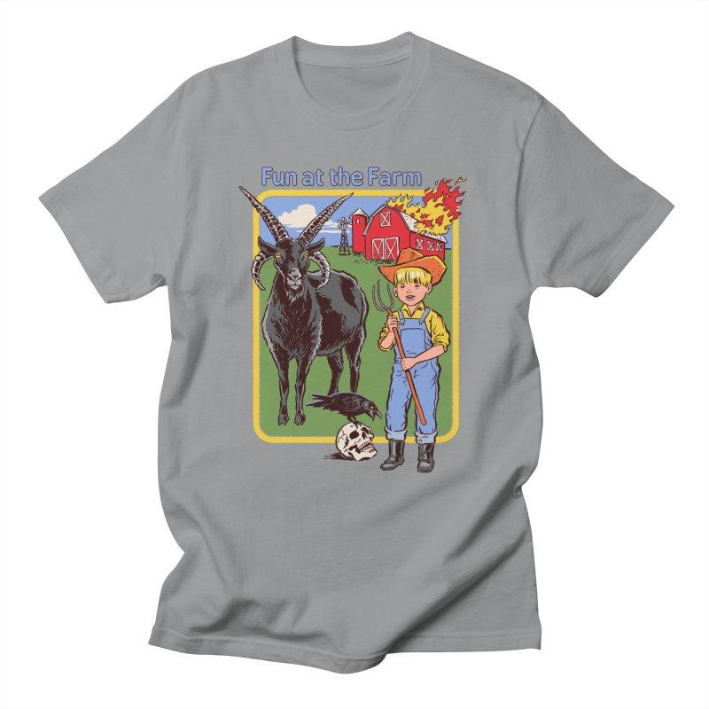Fun at the Farm Women's Unisex T-Shirt by Steven Rhodes