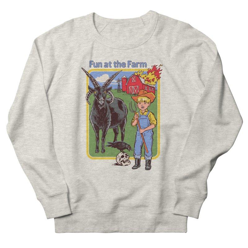 Fun at the Farm Women's Sweatshirt by Steven Rhodes