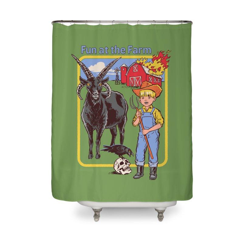 Fun at the Farm Home Shower Curtain by Steven Rhodes