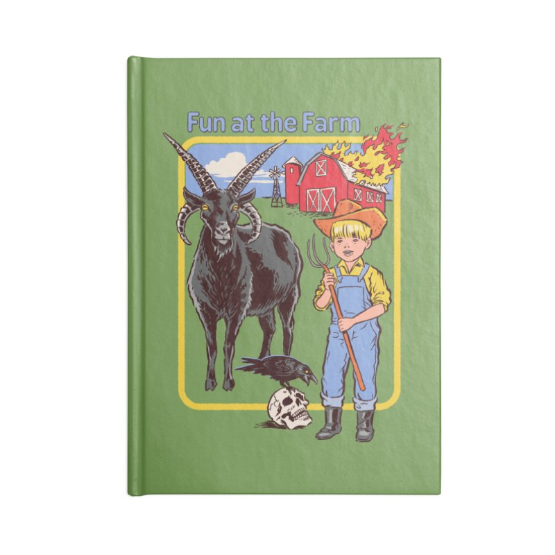 Fun at the Farm Accessories Notebook by Steven Rhodes