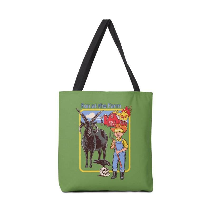 Fun at the Farm Accessories Bag by Steven Rhodes