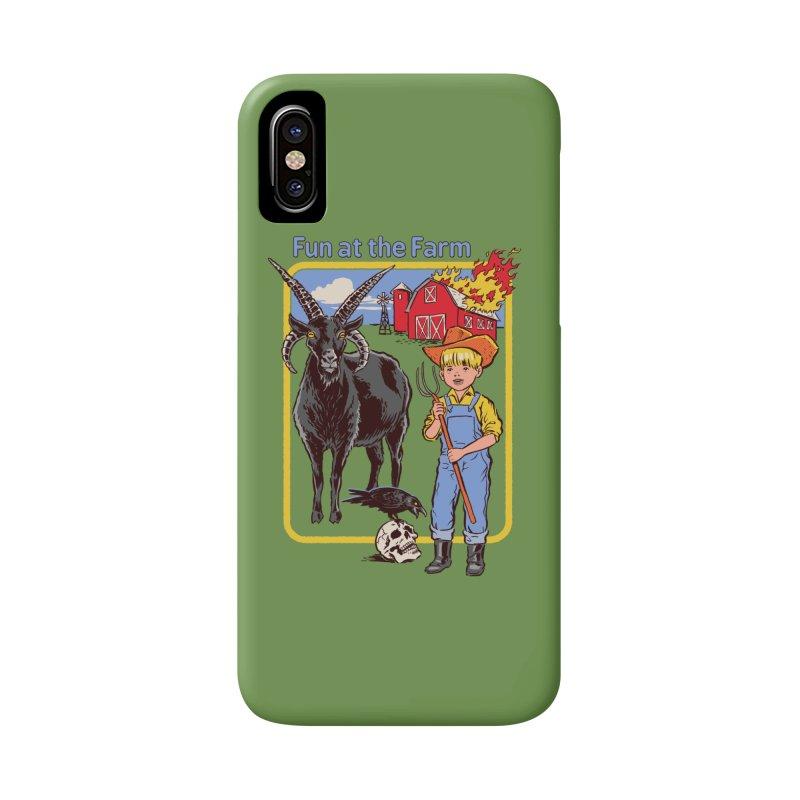 Fun at the Farm Accessories Phone Case by Steven Rhodes