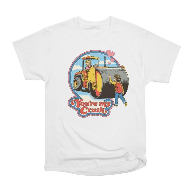 You're my Crush Men's Classic T-Shirt by Steven Rhodes