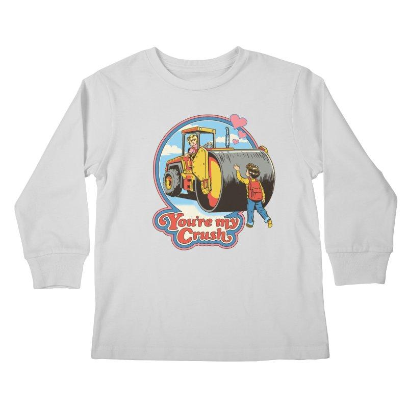 You're my Crush Kids Longsleeve T-Shirt by Steven Rhodes