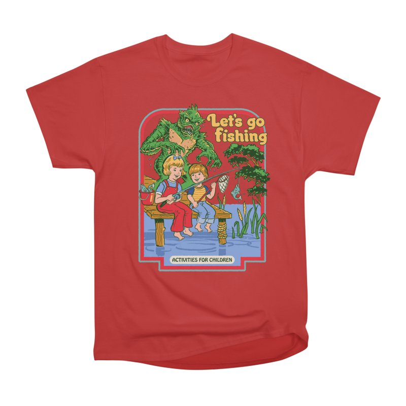 Let's Go Fishing Men's Classic T-Shirt by Steven Rhodes
