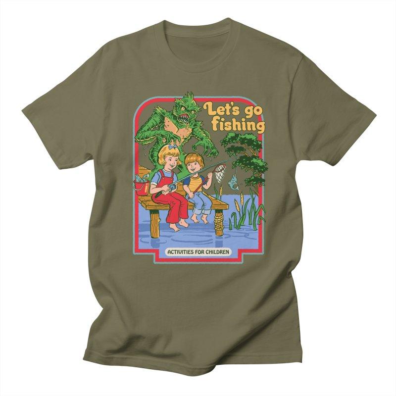 Let's Go Fishing Women's Unisex T-Shirt by Steven Rhodes