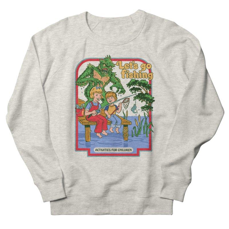 Let's Go Fishing Women's Sweatshirt by Steven Rhodes