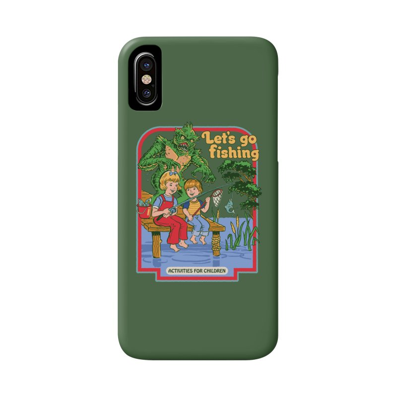 Let's Go Fishing Accessories Phone Case by Steven Rhodes