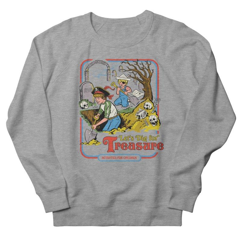 Let's Dig for Treasure Women's Sweatshirt by Steven Rhodes