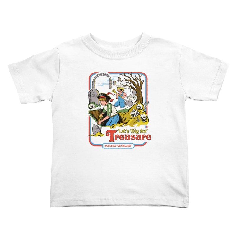 Let's Dig for Treasure Kids Toddler T-Shirt by Steven Rhodes