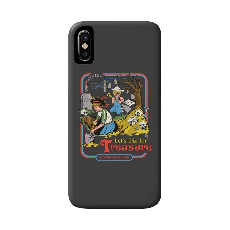 Let's Dig for Treasure Accessories Phone Case by Steven Rhodes