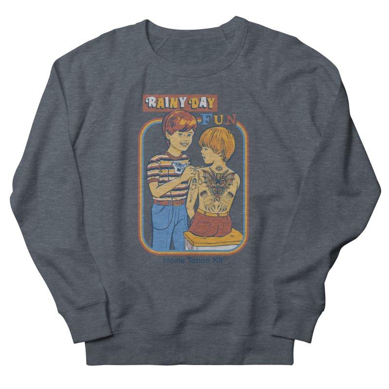 Rainy Day Fun Women's Sweatshirt by Steven Rhodes