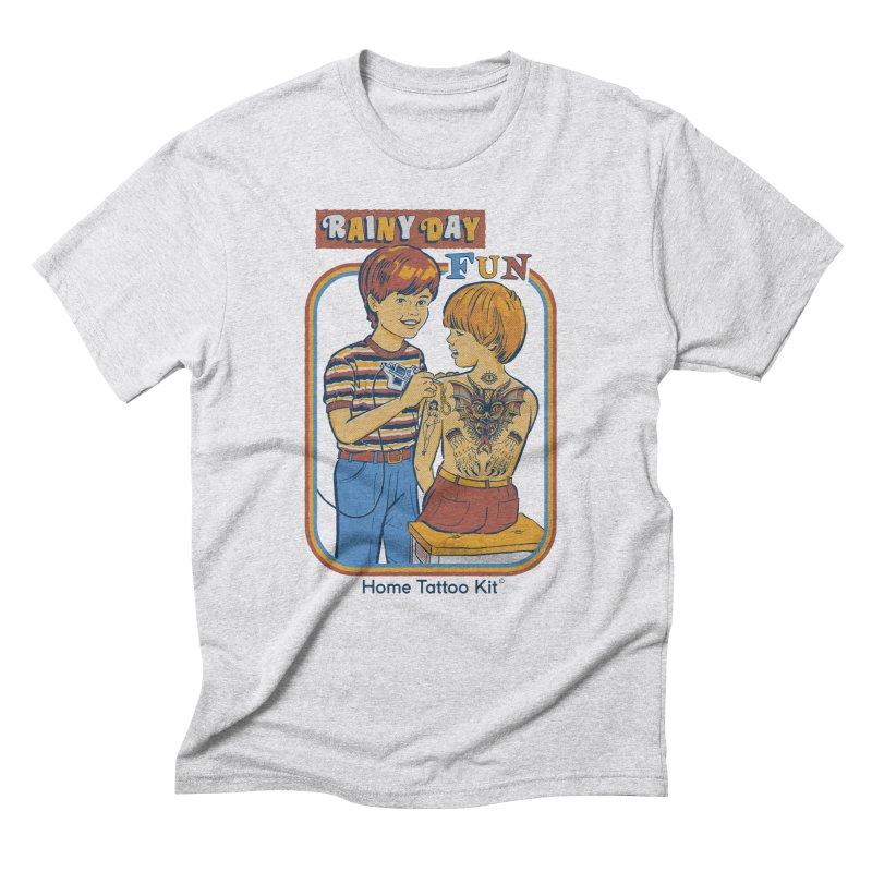Rainy Day Fun Men's Triblend T-Shirt by Steven Rhodes