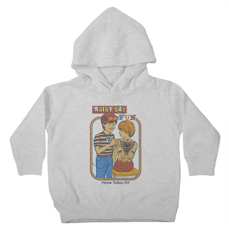 Rainy Day Fun Kids Toddler Pullover Hoody by Steven Rhodes