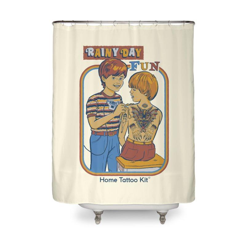 Rainy Day Fun Home Shower Curtain by Steven Rhodes