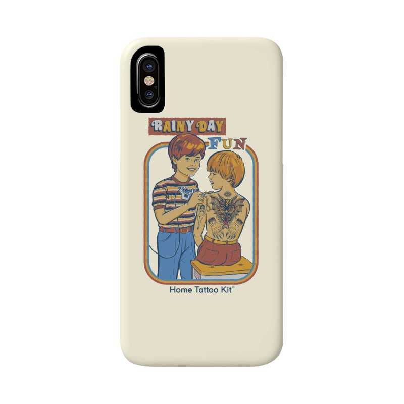 Rainy Day Fun Accessories Phone Case by Steven Rhodes