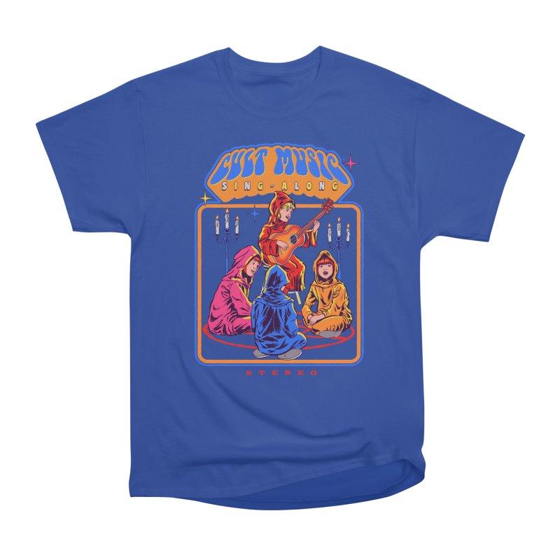 Cult Music Sing-Along Women's Classic Unisex T-Shirt by Steven Rhodes