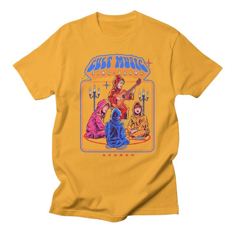 Cult Music Sing-Along Women's Unisex T-Shirt by Steven Rhodes
