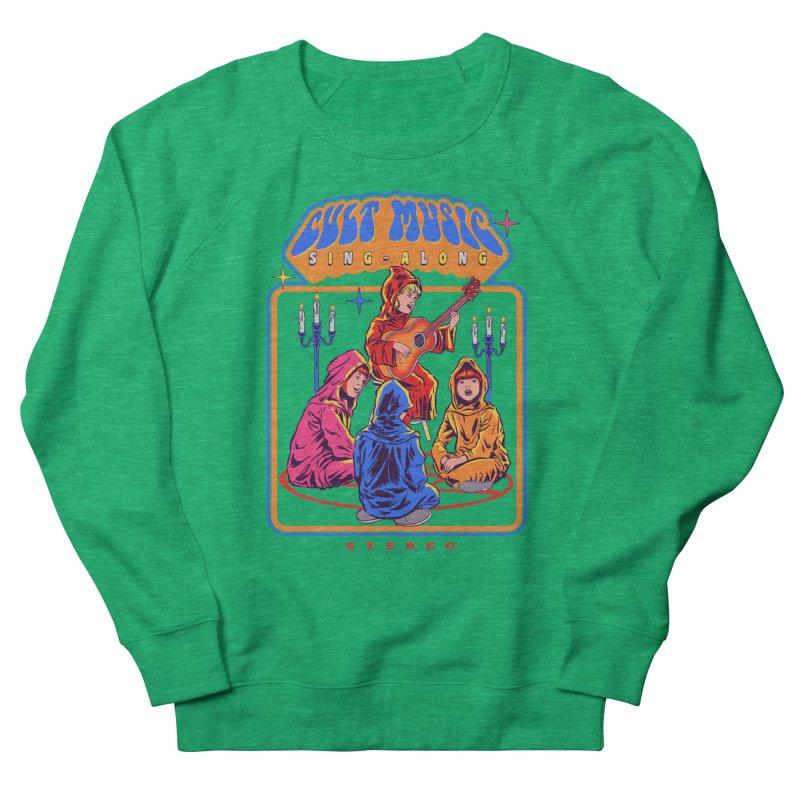 Cult Music Sing-Along Women's Sweatshirt by Steven Rhodes