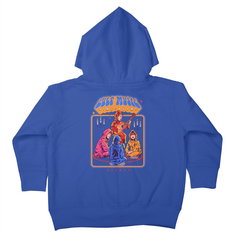 Cult Music Sing-Along Kids Toddler Zip-Up Hoody by Steven Rhodes