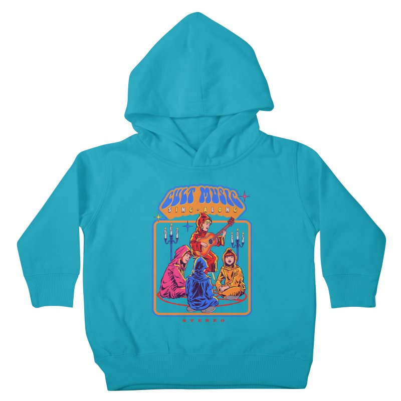 Cult Music Sing-Along Kids Toddler Pullover Hoody by Steven Rhodes