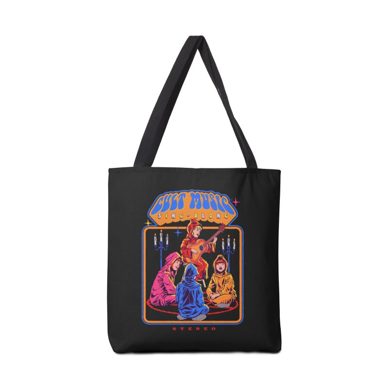Cult Music Sing-Along Accessories Bag by Steven Rhodes