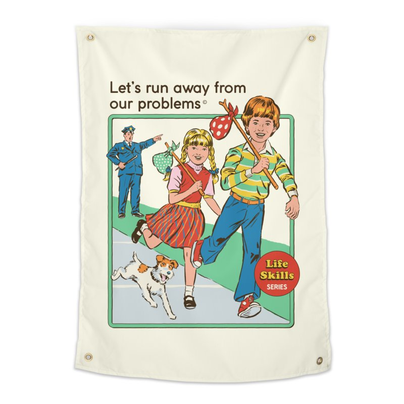 Let's Run Away Home Tapestry by Steven Rhodes