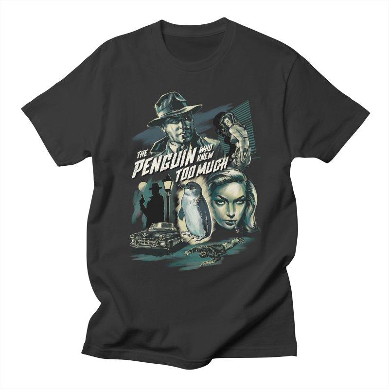 Penguin Men's T-Shirt by Steven Rhodes