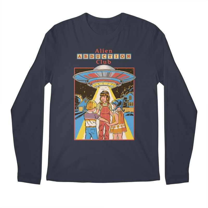 Alien Abduction Club Men's Longsleeve T-Shirt by Steven Rhodes