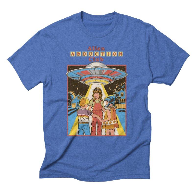 Alien Abduction Club Men's Triblend T-Shirt by Steven Rhodes