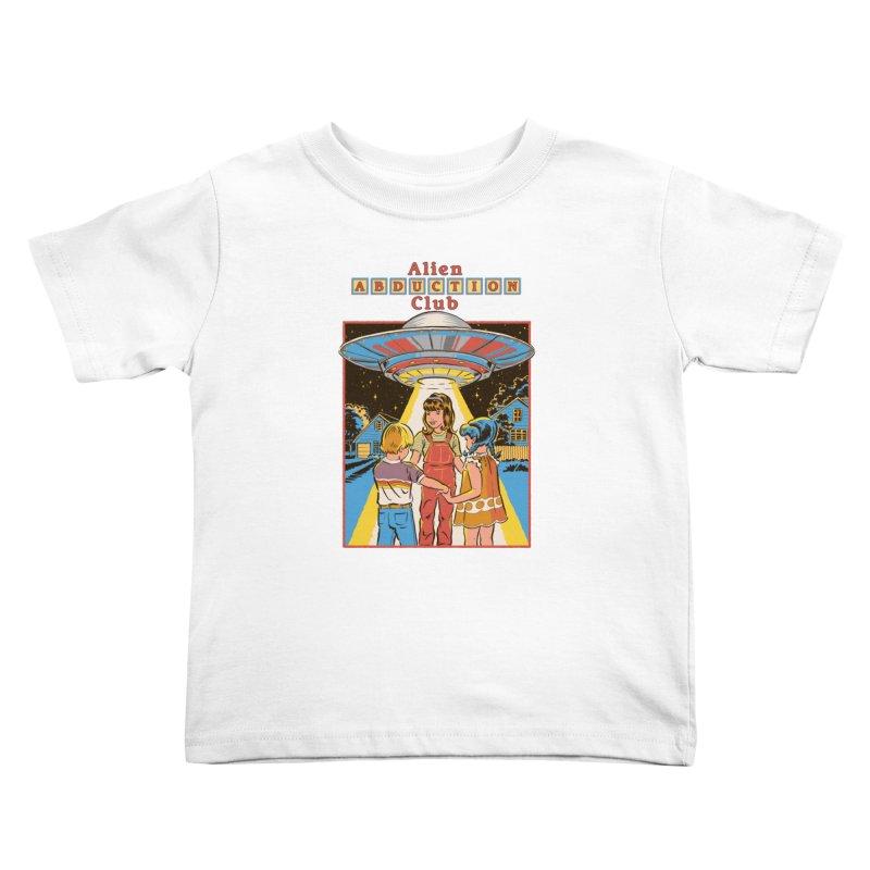 Alien Abduction Club Kids Toddler T-Shirt by Steven Rhodes