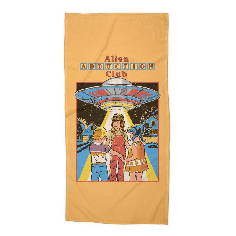 Alien Abduction Club Accessories Beach Towel by Steven Rhodes