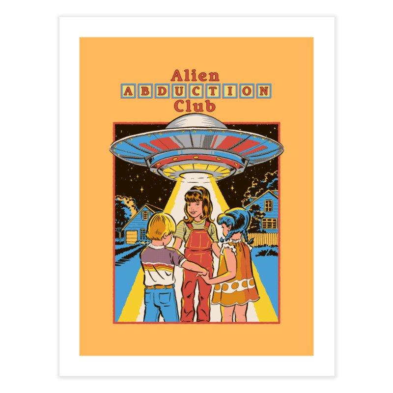 Alien Abduction Club Home Fine Art Print by Steven Rhodes